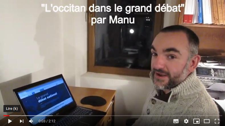 L'occitan dans le grand débat national