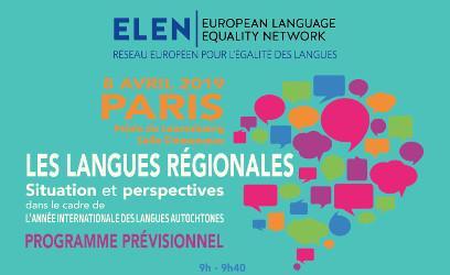 Journées d'étude sur les langues régionales